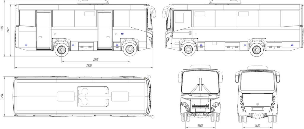 автобус Симаз